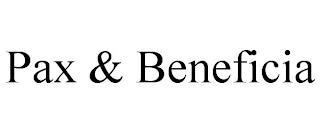PAX & BENEFICIA trademark