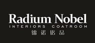RADIUM NOBEL INTERIORS COATROOM LEI NUOMING PIN trademark