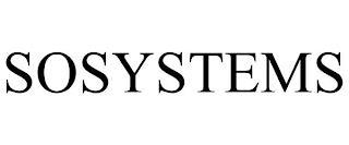 SOSYSTEMS trademark