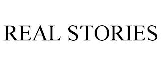 REAL STORIES trademark