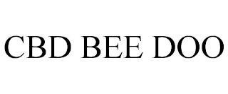 CBD BEE DOO trademark