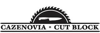 CAZENOVIA CUT BLOCK trademark