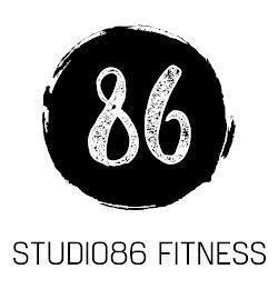 86 STUDIO86 FITNESS trademark