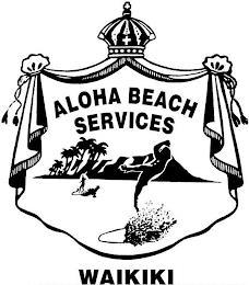 ALOHA BEACH SERVICES WAIKIKI trademark