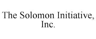 THE SOLOMON INITIATIVE, INC. trademark