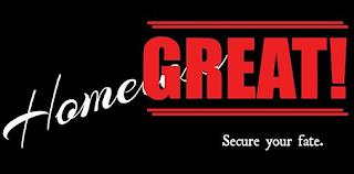 HOMEGREAT! SECURE YOUR FATE. trademark