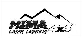 HIMA 4X4 LASER LIGHTING trademark