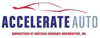 ACCELERATE AUTO ADMINISTERED BY SOUTHERN INSURANCE UNDERWRITERS, INC. trademark