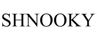 SHNOOKY trademark