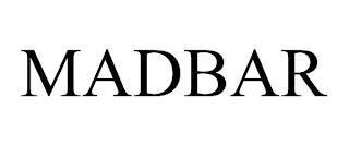 MADBAR trademark