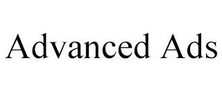 ADVANCED ADS trademark