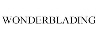 WONDERBLADING trademark