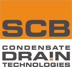 SCB CONDENSATE DRAIN TECHNOLOGIES trademark
