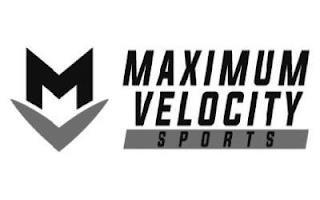 MV MAXIMUM VELOCITY SPORTS trademark