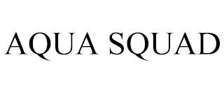 AQUA SQUAD trademark