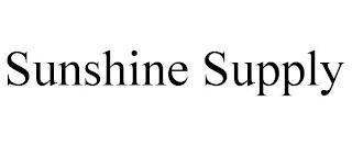 SUNSHINE SUPPLY trademark