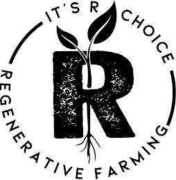 IT'S R CHOICE R REGENERATIVE FARMING trademark
