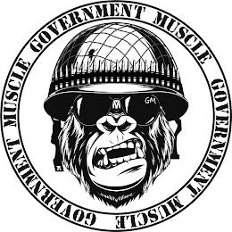 GOVERNMENT MUSCLE GOVERNMENT MUSCLE GOVERNMENT MUSCLE GM trademark