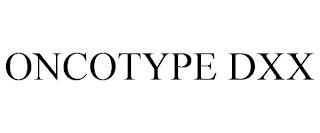 ONCOTYPE DXX trademark