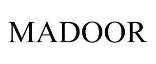 MADOOR trademark
