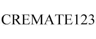 CREMATE123 trademark