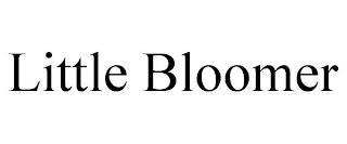 LITTLE BLOOMER trademark