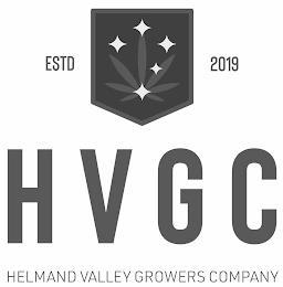 H V G C HELMAND VALLEY GROWERS COMPANY ESTD 2019 trademark