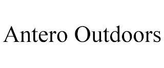 ANTERO OUTDOORS trademark
