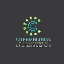 CG CREED GLOBAL MEDIA & PRODUCTION BUILDING COLLABORATIONS AND CONNECTING YOUR MEDIA BRAND trademark
