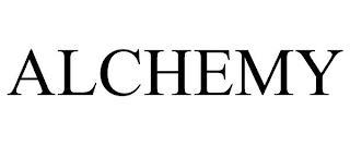 ALCHEMY trademark