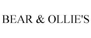 BEAR & OLLIE'S trademark