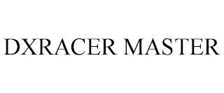 DXRACER MASTER trademark