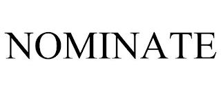 NOMINATE trademark