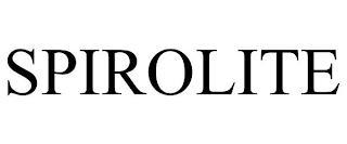 SPIROLITE trademark