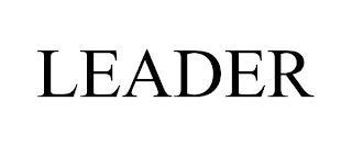 LEADER trademark