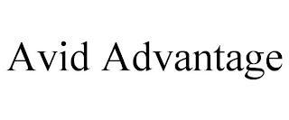 AVID ADVANTAGE trademark