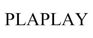 PLAPLAY trademark