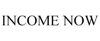 INCOME NOW trademark