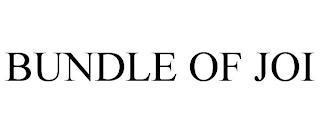BUNDLE OF JOI trademark