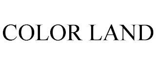 COLOR LAND trademark