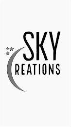 SKY CREATIONS trademark