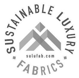 SUSTAINABLE LUXURY FABRICS SULUFAB.COM trademark