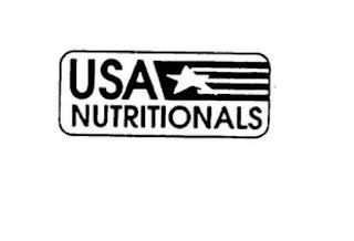 USA NUTRITIONALS trademark