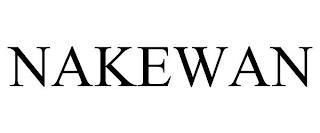 NAKEWAN trademark