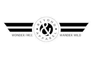 WONDER FREE WANDER WILD BEYOND & APPAREL trademark