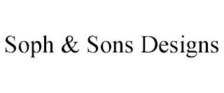 SOPH & SONS DESIGNS trademark
