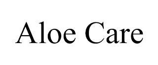ALOE CARE trademark