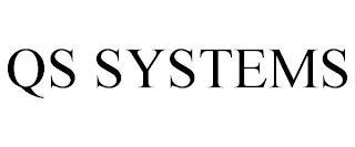 QS SYSTEMS trademark