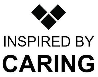 INSPIRED BY CARING trademark