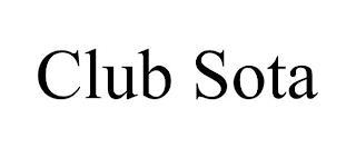 CLUB SOTA trademark